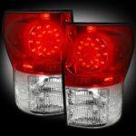 automotive - toyota tundra tail lights